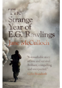 Obálka knihy  Strange Year of E.G. Rawlings od McCulloch Jane, ISBN:  9781916238312
