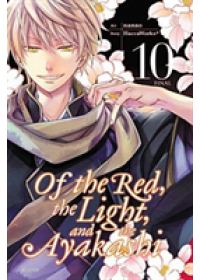 Obálka knihy  Of the Red, the Light, and the Ayakashi, Vol. 10 od HaccaWorks, ISBN:  9781975300104