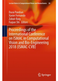 Obálka knihy  Proceedings of the International Conference on ISMAC in Computational Vision and Bio-Engineering 2018 (ISMAC-CVB) od , ISBN:  9783030006648