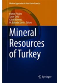 Obálka knihy  Mineral Resources of Turkey od , ISBN:  9783030029487