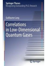 Obálka knihy  Correlations in Low-Dimensional Quantum Gases od Lang Guillaume, ISBN:  9783030052843