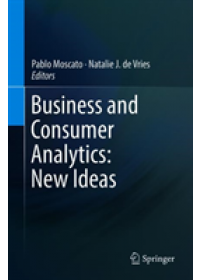 Obálka knihy  Business and Consumer Analytics: New Ideas od , ISBN:  9783030062217