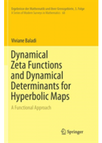 Obálka knihy  Dynamical Zeta Functions and Dynamical Determinants for Hyperbolic Maps od Baladi Viviane, ISBN:  9783030085056