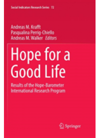 Obálka knihy  Hope for a Good Life od , ISBN:  9783030087067