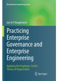 Obálka knihy  Practicing Enterprise Governance and Enterprise Engineering od Hoogervorst Jan A.P., ISBN:  9783030088286