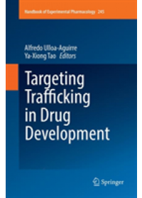 Obálka knihy  Targeting Trafficking in Drug Development od , ISBN:  9783030089276