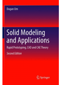 Obálka knihy  Solid Modeling and Applications od Um Dugan, ISBN:  9783030090319