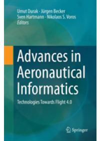 Obálka knihy  Advances in Aeronautical Informatics od , ISBN:  9783030091385