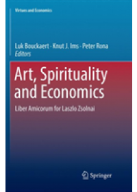Obálka knihy  Art, Spirituality and Economics od , ISBN:  9783030091392