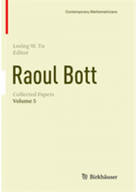 Obálka knihy  Raoul Bott: Collected Papers od , ISBN:  9783030095994