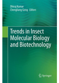 Obálka knihy  Trends in Insect Molecular Biology and Biotechnology od , ISBN:  9783030096601