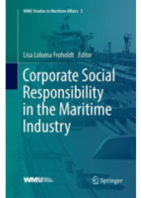 Obálka knihy  Corporate Social Responsibility in the Maritime Industry od , ISBN:  9783030098735