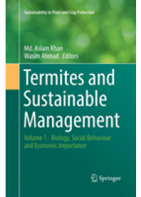 Obálka knihy  Termites and Sustainable Management od , ISBN:  9783030101589