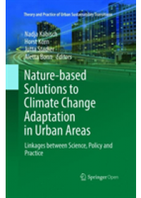 Obálka knihy  Nature-Based Solutions to Climate Change Adaptation in Urban Areas od , ISBN:  9783030104177
