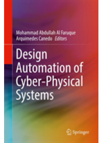 Obálka knihy  Design Automation of Cyber-Physical Systems od , ISBN:  9783030130497