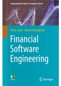 Obálka knihy  Financial Software Engineering od Lano Kevin, ISBN:  9783030140496