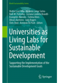 Obálka knihy  Universities as Living Labs for Sustainable Development od , ISBN:  9783030156039