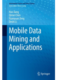 Obálka knihy  Mobile Data Mining and Applications od Jiang Hao, ISBN:  9783030165024