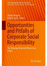 Obálka knihy  Opportunities and Pitfalls of Corporate Social Responsibility od , ISBN:  9783030171018