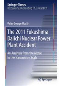 Obálka knihy  2011 Fukushima Daiichi Nuclear Power Plant Accident od Martin Peter George, ISBN:  9783030171902