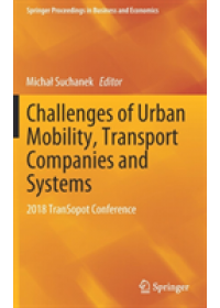 Obálka knihy  Challenges of Urban Mobility, Transport Companies and Systems od , ISBN:  9783030177423