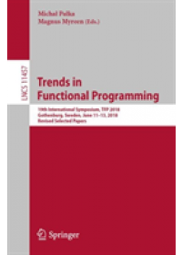 Obálka knihy  Trends in Functional Programming od , ISBN:  9783030185053