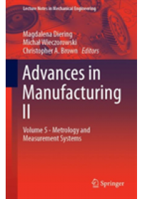 Obálka knihy  Advances in Manufacturing II od , ISBN:  9783030186814