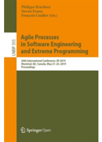Obálka knihy  Agile Processes in Software Engineering and Extreme Programming od , ISBN:  9783030190330