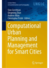 Obálka knihy  Computational Urban Planning and Management for Smart Cities od , ISBN:  9783030194239