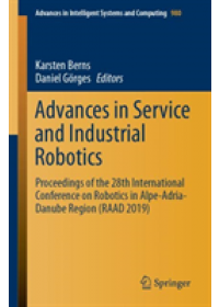 Obálka knihy  Advances in Service and Industrial Robotics od , ISBN:  9783030196479