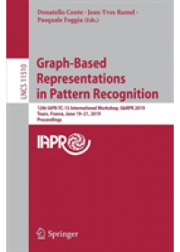 Obálka knihy  Graph-Based Representations in Pattern Recognition od , ISBN:  9783030200800