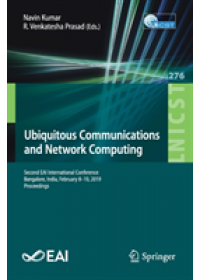 Obálka knihy  Ubiquitous Communications and Network Computing od , ISBN:  9783030206147