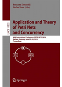 Obálka knihy  Application and Theory of Petri Nets and Concurrency od , ISBN:  9783030215705