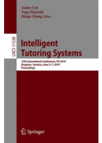 Obálka knihy  Intelligent Tutoring Systems od , ISBN:  9783030222437