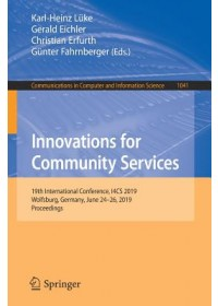 Obálka knihy  Innovations for Community Services od , ISBN:  9783030224813