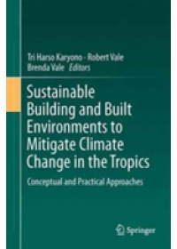 Obálka knihy  Sustainable Building and Built Environments to Mitigate Climate Change in the Tropics od , ISBN:  9783319496009