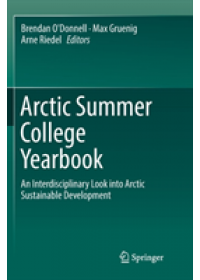 Obálka knihy  Arctic Summer College Yearbook od , ISBN:  9783319882499