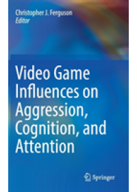 Obálka knihy  Video Game Influences on Aggression, Cognition, and Attention od , ISBN:  9783319954943