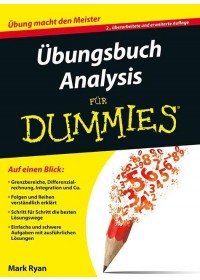Obálka knihy  Übungsbuch Analysis od Ryan Mark, ISBN:  9783527711406