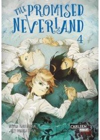 Obálka knihy  The Promised Neverland 4 od Shirai Kaiu, ISBN:  9783551739179