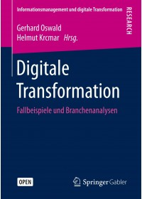 Obálka knihy  Digitale Transformation od , ISBN:  9783658226237