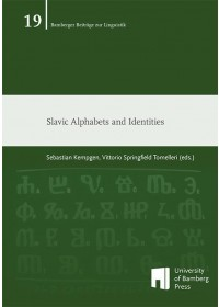 Obálka knihy  Slavic Alphabets and Identities od Tomelleri Vittorio Springfield, ISBN:  9783863096175