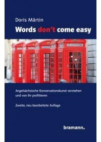 Obálka knihy  Words don't come easy od Märtin Doris, ISBN:  9783959030052