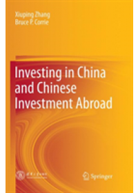 Obálka knihy  Investing in China and Chinese Investment Abroad od Zhang Xiuping, ISBN:  9789811340345
