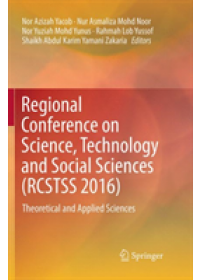 Obálka knihy  Regional Conference on Science, Technology and Social Sciences (RCSTSS 2016) od , ISBN:  9789811343230