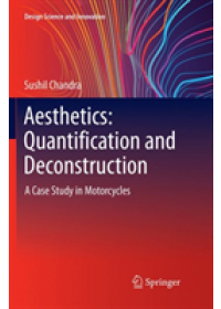 Obálka knihy  Aesthetics: Quantification and Deconstruction od Chandra Sushil, ISBN:  9789811348341