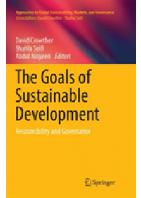 Obálka knihy  Goals of Sustainable Development od , ISBN:  9789811353031