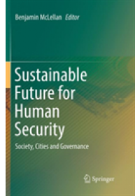 Obálka knihy  Sustainable Future for Human Security od , ISBN:  9789811353963