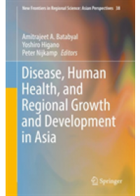 Obálka knihy  Disease, Human Health, and Regional Growth and Development in Asia od , ISBN:  9789811362675