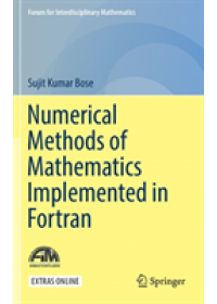 Obálka knihy  Numerical Methods of Mathematics Implemented in Fortran od Bose Sujit Kumar, ISBN:  9789811371134